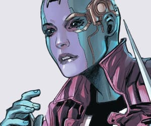Marvel, guardians of the galaxy, and nebula image