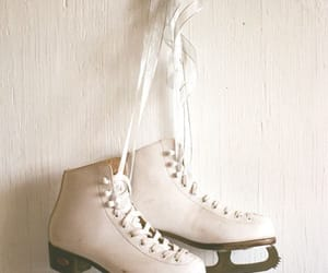 ice skating, white, and winter image