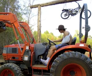 sexy, tractor, and hayes grier image