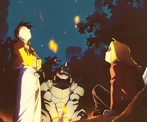 alphonse elric, ling yao, and anime image