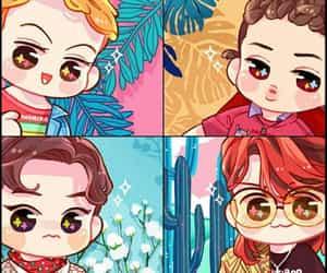 exo, kpop, and fanart image