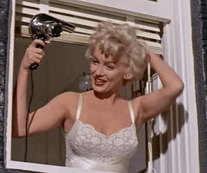 1950s, Marilyn Monroe, and vintage image