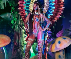 Caribbean and carnival image