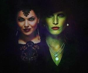 wicked, evilqueen, and reginamills image