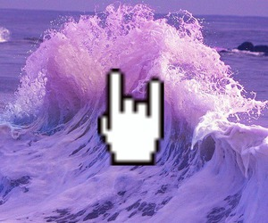 grunge, purple, and rock image