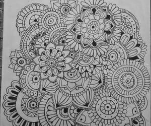 drawing, draw, and mandalas image