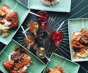 food, malaysian food, and happy image