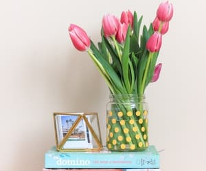 bouquet, tulips, and spring decor image