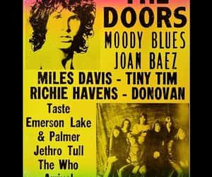 1970, band, and ticket image