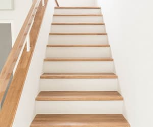 wood stairs image