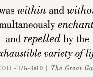 favorite, great gatsby, and quote image