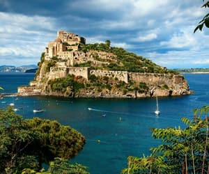 Island, italy, and Naples image
