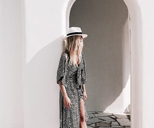 dress, style, and summer image