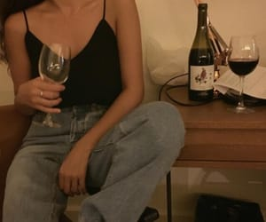 grunge, outfit, and wine image