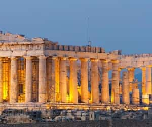 city, travel, and Athens image