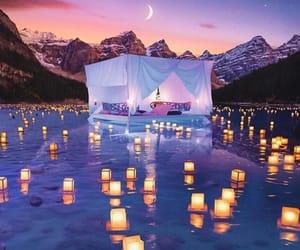 romantic, lantern, and light image