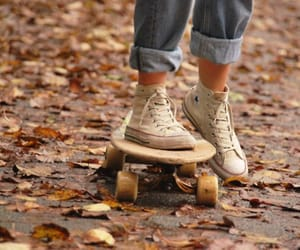 autumn, converse, and fall image