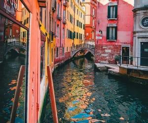 italy, travel, and venecia image