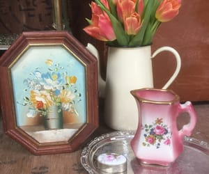 interior design, vintage store, and vintage style image