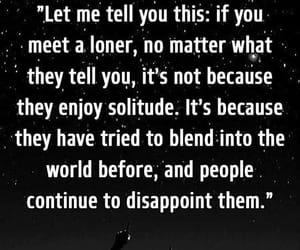 enjoy, loner, and solitude image