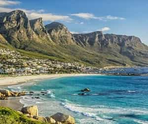 africa, cape town, and coast image