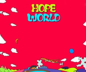 jhope, bts, and hope world image