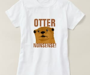 animals, funny, and otters image