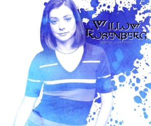 willow, buffy the vampire slayer, and alyson hannigan image
