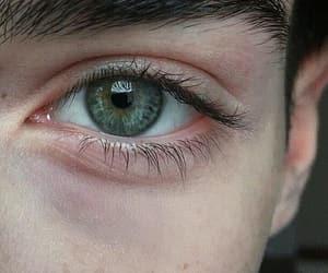 beautiful, eyes, and grey image
