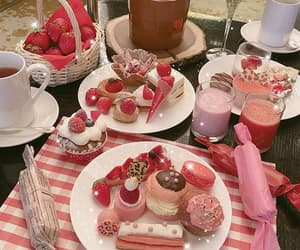 cake, sweets, and pink aesthetic image