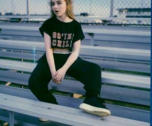 art, blonde, and black image