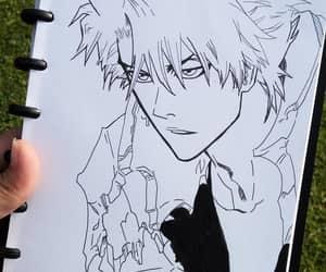 anime, art, and bleach image