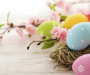 easter, easter eggs, and fêtes image