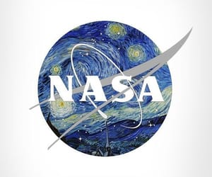 Logo, starry, and nasa image