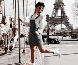 fashion, girl, and paris image