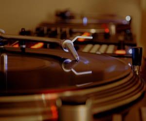 brown, music, and vintage image