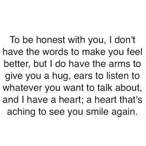 quotes, hug, and smile image