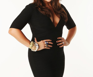 curves, healthy, and hillary scott image