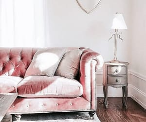 decoration, living, and pink image