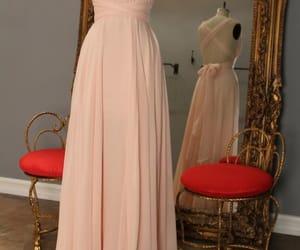 dress, prom dress, and evening dress image
