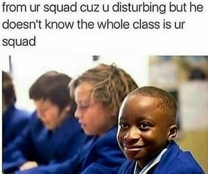 funny, squad, and school image