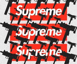 gang, supreme, and wallpapers image