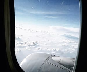 Flying and travel image