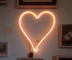 aesthetics, heart, and glow image