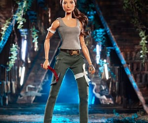 barbie, tomb raider, and lara croft image