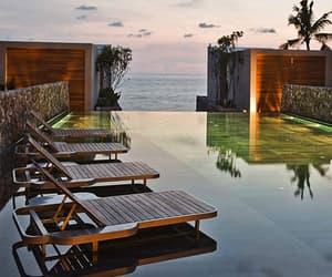 pool and sea image