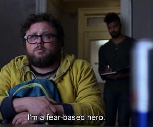 fear, hero, and jessica jones image