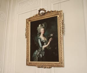 marie antoinette, painting, and vintage image