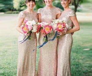 fashion, bridesmaid dress, and dress image