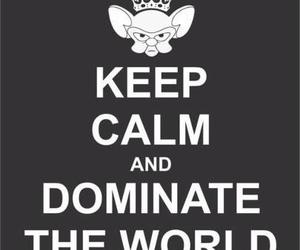 keep calm, world, and dominate image